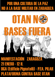 ¡OTAN No, Bases Fuera!