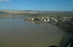 ¡Que se sale el Ebro!