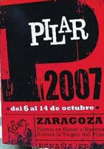 Programa completo de Fiestas del Pilar